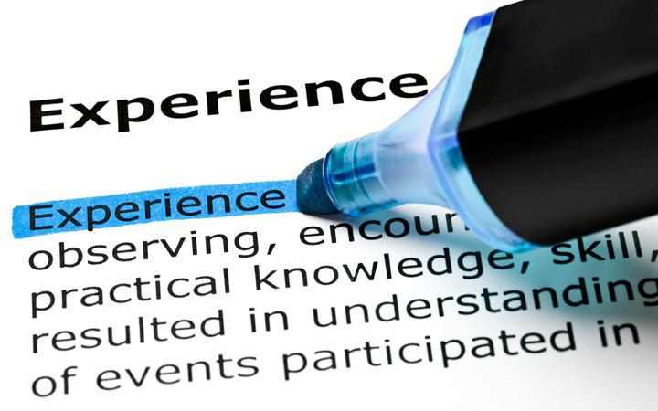 Local knowledge and experience